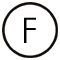 фото символ F